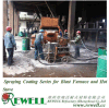 Spraying Coating Series for Blast Furnace and Hot Stove