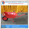 Hot Sale 65L Capacity 5FT Metal Tray Wheelbarrow