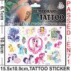 Water Transfer Non-Toxic Cartoon Tattoo Sticker (CG078)