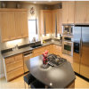 Kitchen Size for Customized Wooden PVC Kitchen Cabinet Furniture