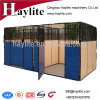 China Design Horse Equipment Box Stable with Panels Rug Door