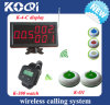 CE Approved Wireless Calling Pagers for Restaurant Hotels Services