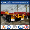 Cimc Hj Hot Exported 40FT 3axle Flatbed Trailer