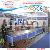 Chinaplast 2014 Running WPC Wood Plastic Profile Extrusion Machinery Production Line