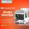 Mini Cutting Bread Slicer/Loaf Bread Slicer Machine/Commercial Bakery Bread Slicer