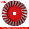 """Diameter 4"""" Turbo Grinding Cup Wheel for Grinding Concrete"""