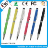 Metal Pen Dual Purpose Rotary Stylus Pen with Touch Screen