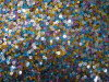 Multi Colour Sequin Fabric (byh4501)