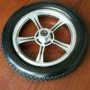 12X1.75 12X2 12X2.125 12 Inch Flat Free Bicycle Wheelchair Foam Tire with Plastic Spoked Rim