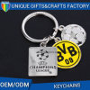 3D Soccor Shape Custom Logo Printed Keychain for Souvenir