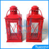 Outdoor Hanging Antique Vintage White Lantern for Candle
