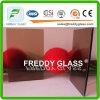 4mm Bronze Woven Patterned Glass/ Furniture Glass/ Window Glass