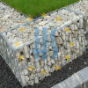 Rock Wall Construction Usage Gabion Wire Basket