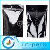 Stand up Aluminum Foil Ziplock Packing Bag with Notch for Food and Snack