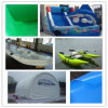 PVC Coated Tarpaulin Fabric for Tent, Bag, Truck Cover, Inflatable Boat