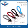 Colorful Promotion PU Rope Keyholder