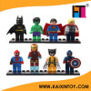 8 PCS/Lot DIY Educational Super Heroes Building Blocks Figures Toy