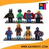 8 PCS/Lot DIY Educational Super Heroes Building Blocks Figures Toy