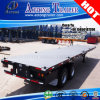 2 Axles DOT Certificate 40ft Platforms Trailer Truck for Mexico