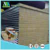 50mm Fireproof Steel Rock Wool Sandwich Panel for Wall