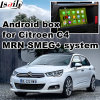Android GPS Navigation System Box for Citroen C4 Smeg+ Mrn Video Interface