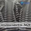 Stripe Polyester / Nylon / Cotton Organza Fabric for Fashion Lady′s Clothing