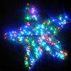 Outdoor LED Christmas Lit Wreath Star Fairy Light