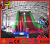 Funny Inflatable Slide with Obstacle for Kids and Adults