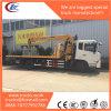 8ton Dongfeng Crane Wrecker Truck with Palfinger Brand Crane