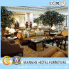 Modern Wooden Sofa Hotel Public Area Furniture