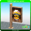 Street LED Backlit Standing Advertising Mupi Light Box