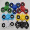 Cheap Fidget Spinner Solid Color Hand Spinner Finger Spinner Toys Fight EDC Tri Digit Air Plastic Finger Gyro Spinners