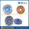 Colors Diamond Tools Double Row Grinding Wheel for Floor Grinding