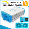 Shi-2000W-24V/48V-220V 21.6~32VDC +RS-485, RS-232 Solar off Grid Inverter Shi-2000W-24