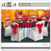 Romantic Wedding Chair Seat Covers with Bow (JY-E12)