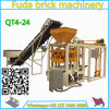 Hot Sell Best Price Qt4-24b Vibrated Block Making Machine