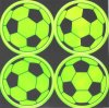 PVC Popular Football Pattern Safety Reflective Sticker