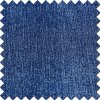 Blue Viscose Polyester Spandex Fabric for Denim Jeans