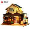 2017 New design Wooden Dollhouse