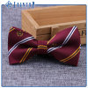 Stripe Bow Tie for Uniform with Custom Logo