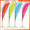 4PCS Custom Teardrop Feather Flag for Outdoor or Event Advertising or Sandbeach Model No.: Qz-012
