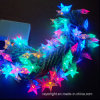 LED Holiday Decoration Blinking Curtain Star String Lights