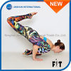 Unique Design Women Sports Capris Tropic Colorful Pattern Yoga Leggings