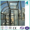 Sightseeing Elevator with Hairline Stainless Steel