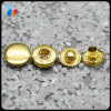 Custom Shining Golden Color Metal Spring Snap Button