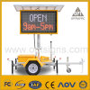 Solar Power Remote Control Portable Advertising Trailer LED Display