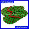 Colorful Summer Beach Slipper with Printed Footbed for Men