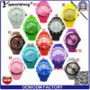 Yxl-822 Promotion Gift Watch Silicone Strap Japan Movement Quartz Watch Sr626sw