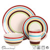 16PCS Handpainted Ceramic Dinner Set for 4 Persons