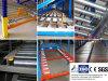 Medium or Heavy Duty Flow Through Shelf for Warehouse Storage